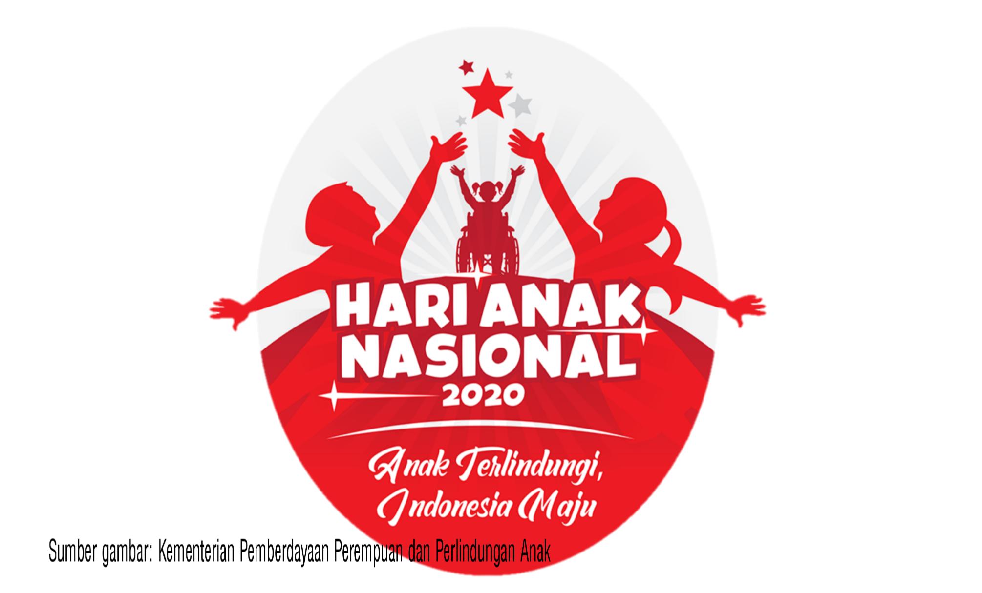 Logo Hari Anak Nasional Tahun 2020